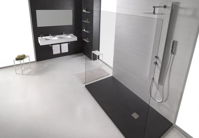 Baño Black & White